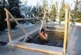 Погода внесла свои коррективы для крещенского купания на водных объектах Марий Эл